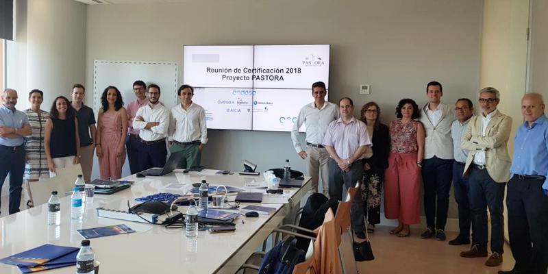 Representantes de los socios que integran el proyecto Pastora.