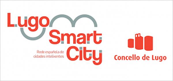 Logotipo de la estrategia de smart city de Lugo.