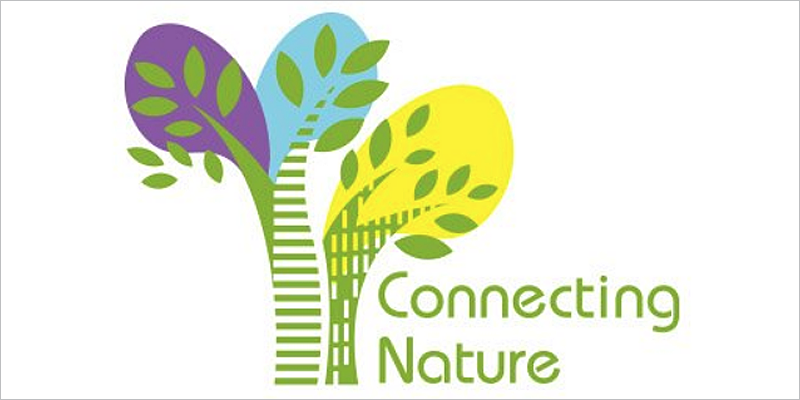 "Logotipo del proyecto europeo ""Connecting Nature"""