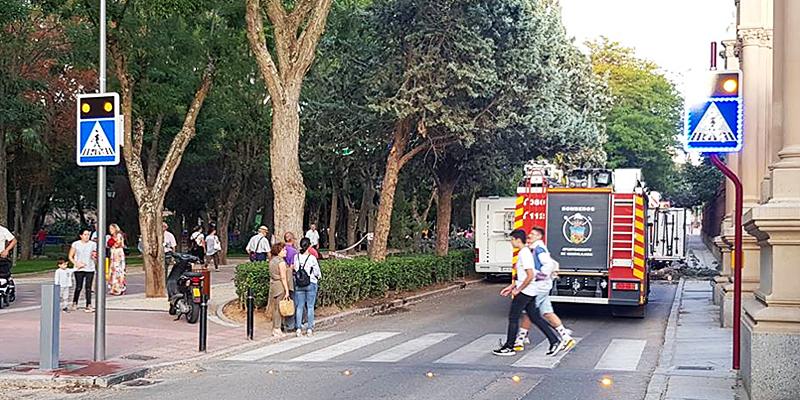 Uno de los pasos de peatones inteligentes de Proinova instalados en una ciudad española.