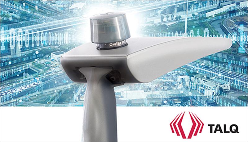 Punto de luz dotado con la solución de iluminación conectada Owlet IoT de Schréder, que ha obtenido la certificación TALQ 2