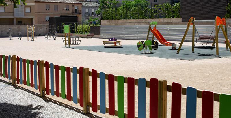 Un parque infantil