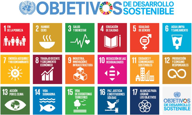 Figura 1. Objetivos de desarrollo sostenible.