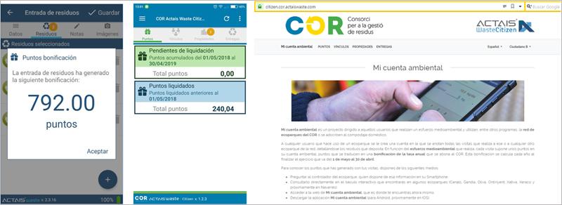 Figura 6. APP móvil y Portal web para el ciudadano.