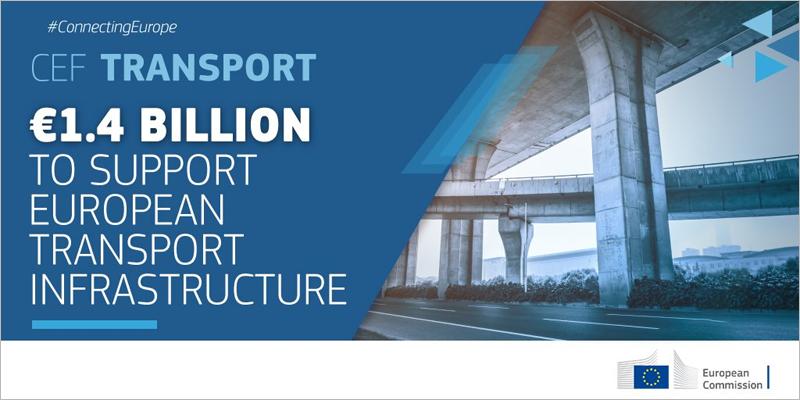 La convocatoria, financiada con fondos del programa de Transporte del Mecanismo Conectar Europa (CEF, por sus siglas en inglés) estará abierta a la presentación de proyectos de transporte sostenible hasta el próximo 26 de febrero.