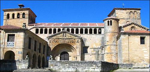 Figura 1. La Colegiata de Santillana del Mar.