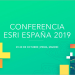 La Conferencia Esri 2019 mostrará lo más innovador en mapas inteligentes los días 29 y 30 de octubre en Madrid