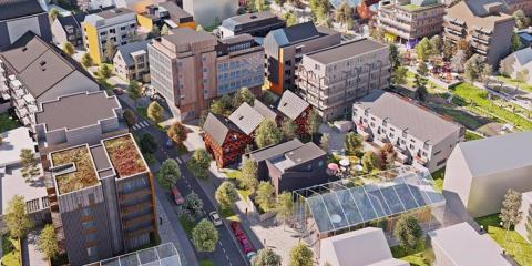 Exposición de dos áreas urbanas de nueva creación en Suecia: Expo Vallastaden 2017 Linköping y nueva zona portuaria en Norrköping
