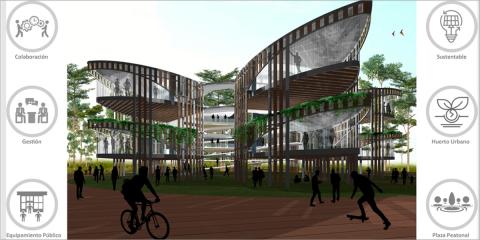 Coworking urbano como equipamiento público para germinar, gestionar y conectar globalmente los emprendimientos de los ciudadanos de Poblenou Barcelona
