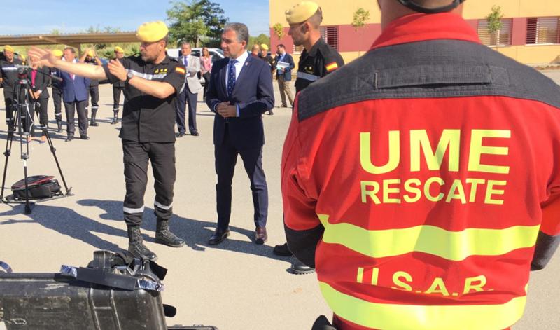 Unidad Militar de Emergencias (UME) se ha integrado en el sistema Emergencias 112 Andalucía y lo ha hecho de forma telemática