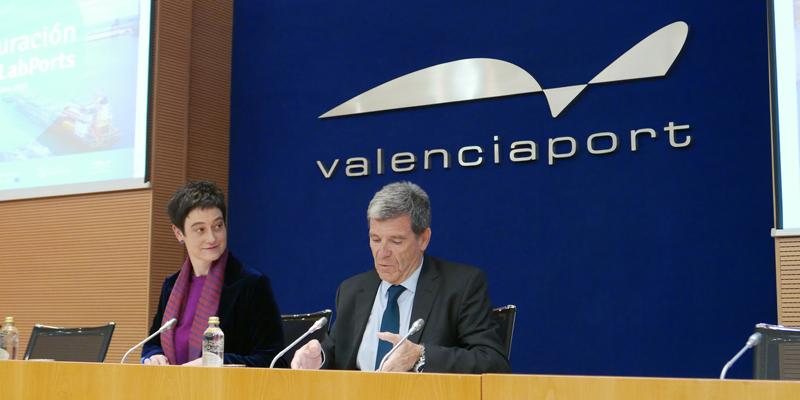presentación deSuperLabPorts tuvo lugar el pasado 22 de octubre en el salón de actos de la Autoridad Portuaria de Valencia (APV).
