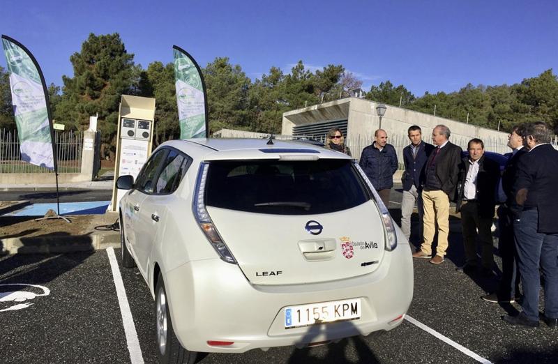 vehículo eléctrico Nissan Leaf