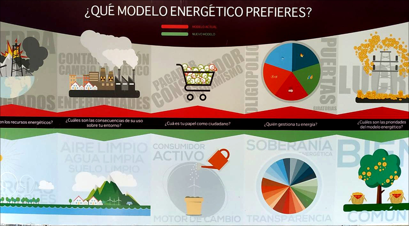 En la Mesa de Transición Energética son los ciudadanos los que deciden qué modelo energético desean para la ciudad.