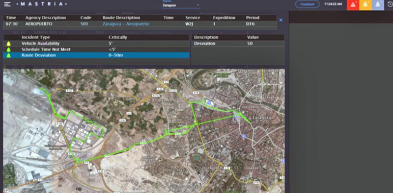 Solución multimodal Mastria, desarrollada por Alstom en España para la gestión inteligente de la movilidad urbana