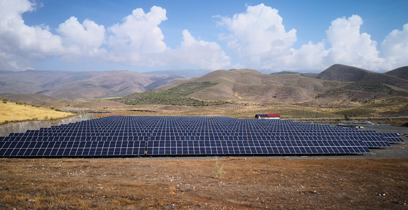 Planta fotovoltaica Gérgal en Almería