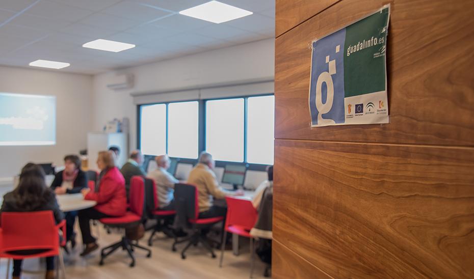 Guadalinfo, centros de acceso público a internet en Andalucía