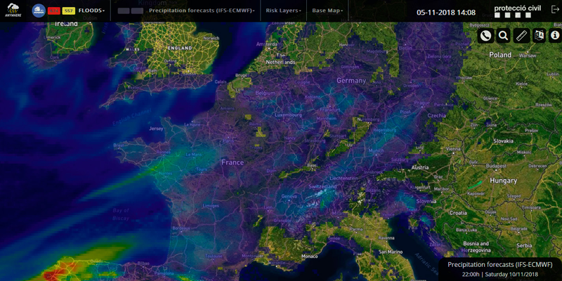 Anywhere, una tecnología para anticipar catástrofes naturales