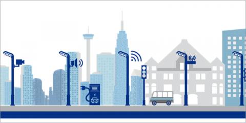 Dispositivos avanzados de sensorización y control, instalados en las luminarias de la ciudad de Rivas, permiten la integración de múltiples periféricos de IoT realizando una gestión inteligente de los servicios smart de la ciudad