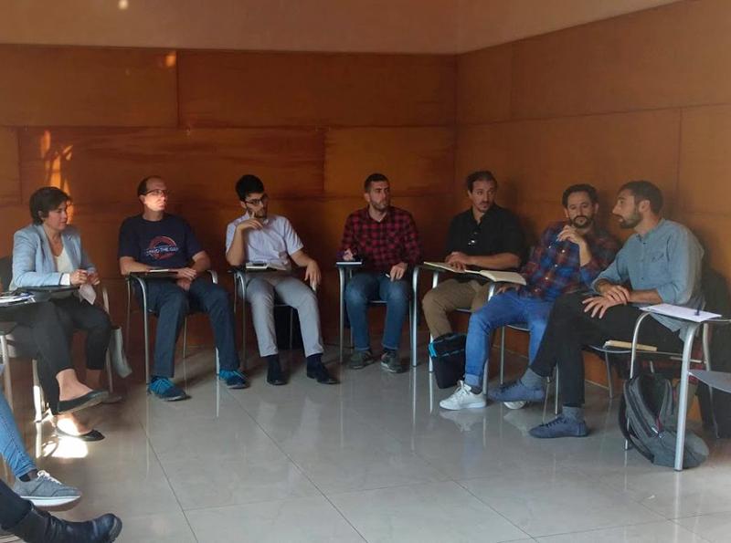 Reunión de representantes de doce municipios de Mallorca