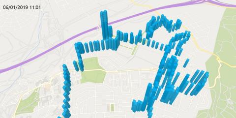 Estaciones smart de monitorización de la calidad del aire