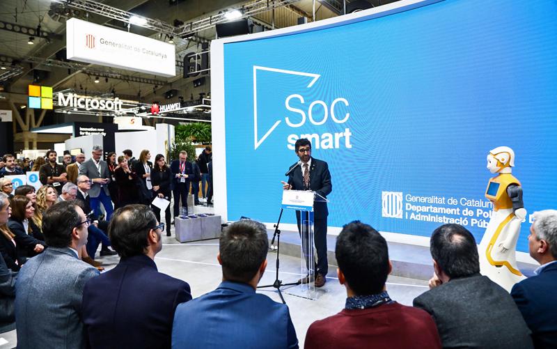 Acto de entrega de premios Soc Smart en SCEWC 2019