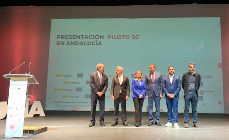 Presentación del proyecto 'Piloto 5G en Andalucía'