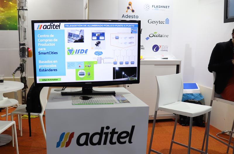 Stand de Aditel en SCEWC 2019