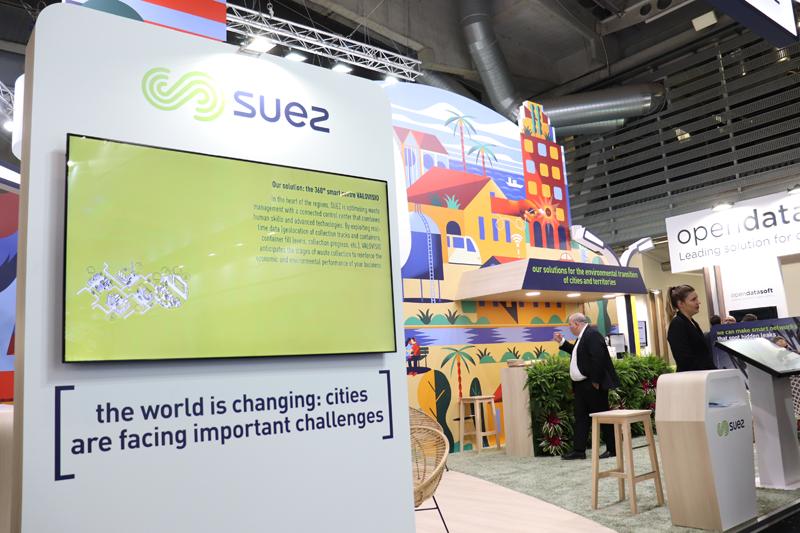 Stand de Suez SCEWC 2019
