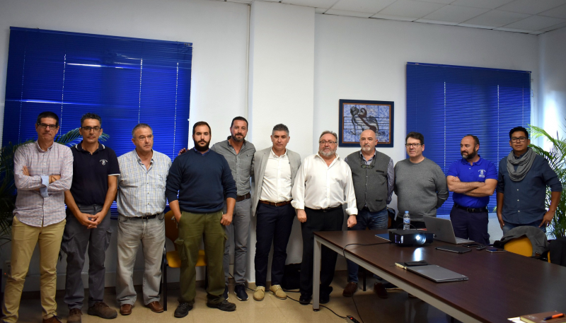 Representantes del Ayuntamiento de Alhaurín de la Torre