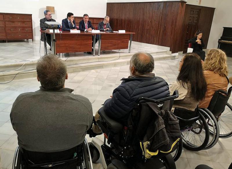 presentación de estrategia de accesibilidad del Ayuntamiento de Sevilla