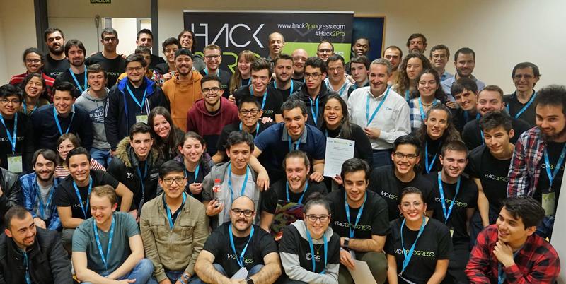 Participantes del Hack2Progress 2019