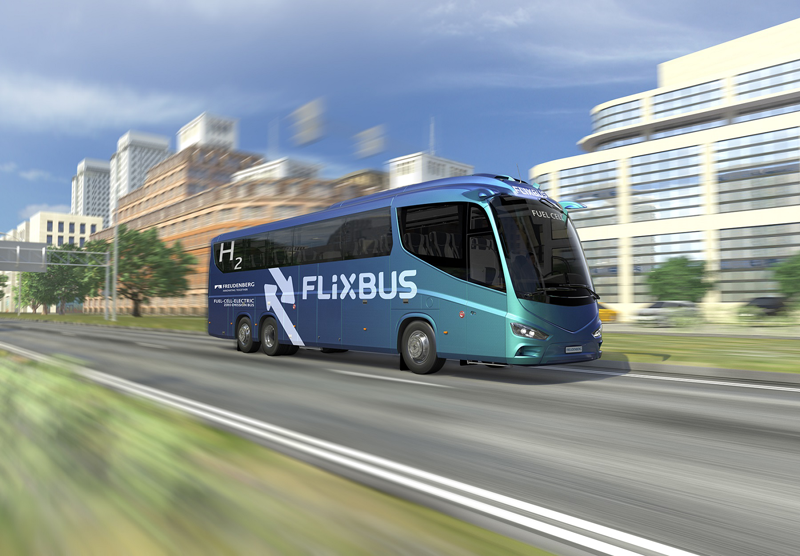 Autobús de la compañía Flixbus