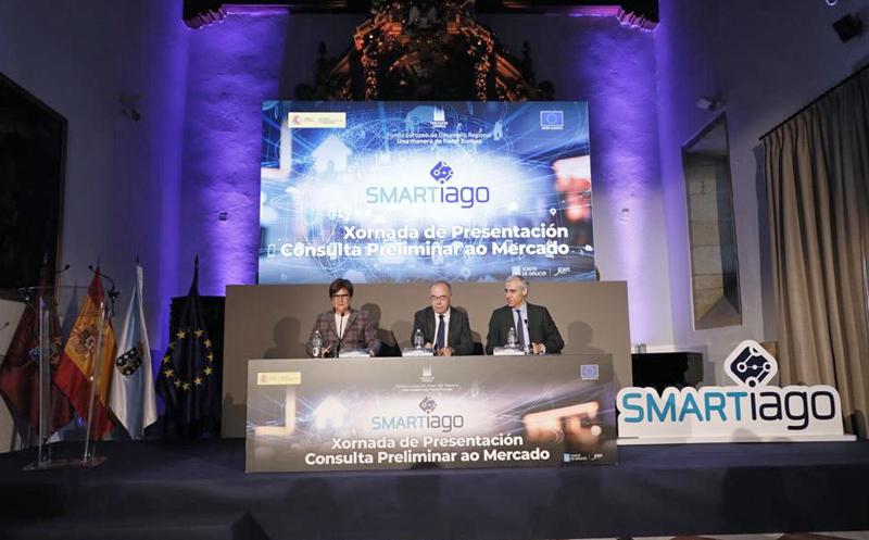 presentación de Smartiago