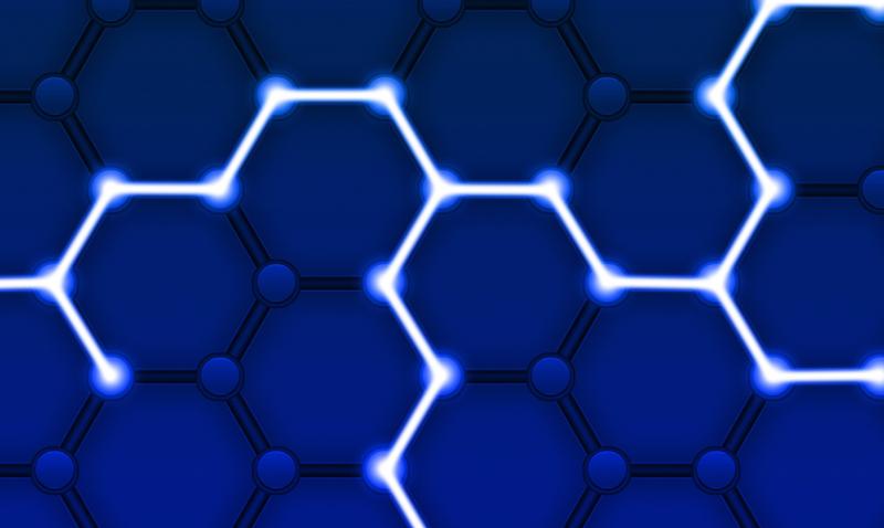 ilustración de blockchain
