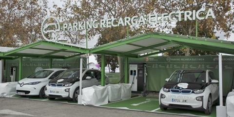 El nuevo parking sostenible de Ifema cuenta con 34 puntos de recarga de vehículos eléctricos