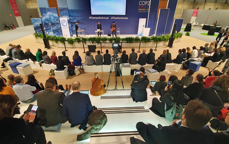 entrega premios ONU en COP 25