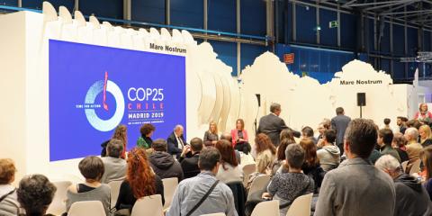 Celebración de la 25ª Cumbre del Clima en Madrid