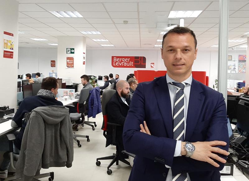 BienvenidoEspinosa, director adjunto de la Dirección de Servicios deBerger-Levrault España