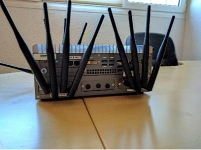 Figura 4. Simulador múltiples estaciones radio.