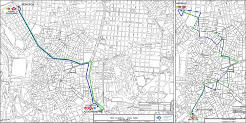 Dos líneas de autobús gratuitas y cero emisiones llegarán a finales de febrero a Madrid
