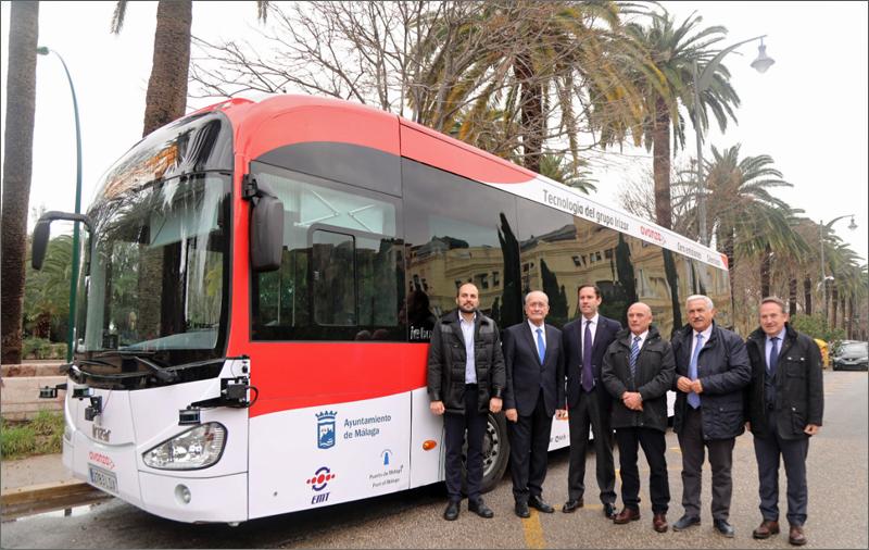 autobús autónomo Málaga