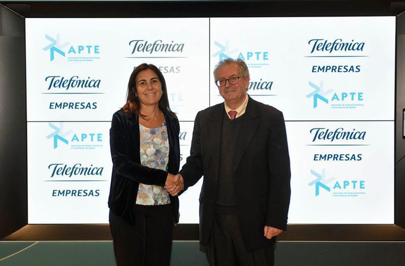 Telefónica y APTE firman un acuerdo de colaboración
