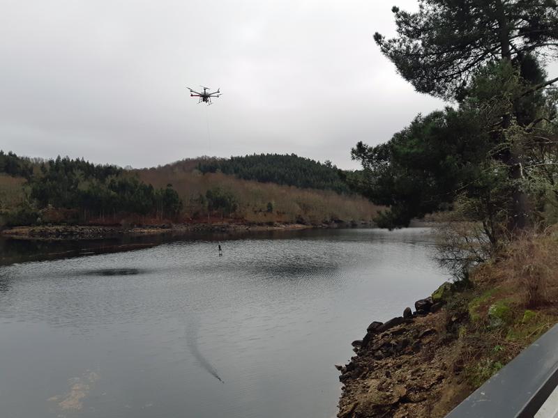 dron medioambiental