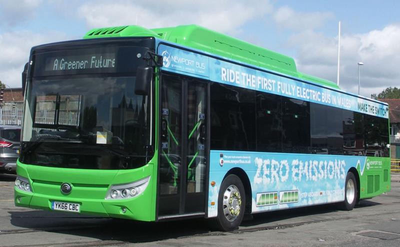 autobuses eléctricos en Reino Unido