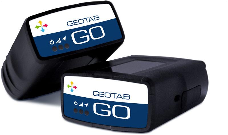 dispositivo GO de Geotab