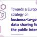 Hacia una estrategia europea sobre el intercambio de datos entre empresas y gobiernos para el interés público