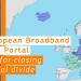 El mapa interactivo de banda ancha en Europa, una herramienta para acabar con la brecha digital