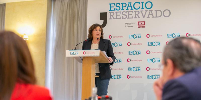consejera de Economía, Empresas y Empleo de Castilla-La Mancha, Patricia Franco