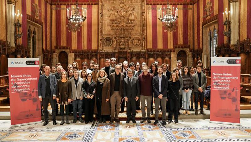 Proyectos seleccionados Barcelona Ciencia