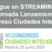 La jornada de presentación del VI Congreso Ciudades Inteligentes se puede seguir en streaming